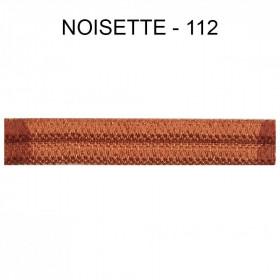 Double passepoil étroit 8 mm 43 IDF - Noisette 112 à 5,88 €