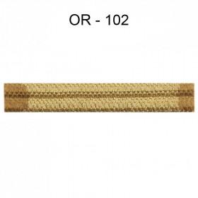Double passepoil étroit 8 mm 43 IDF - Or 102 à 5,88 €