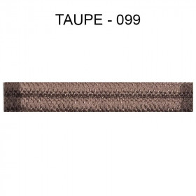Double passepoil étroit 8 mm 43 IDF - Taupe 099 à 5,88 €