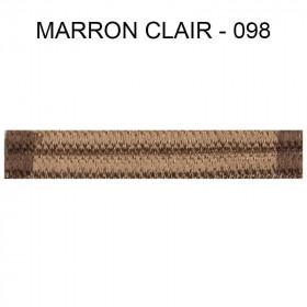 Double passepoil étroit 8 mm 43 IDF - Marron Clair 098 à 5,88 €