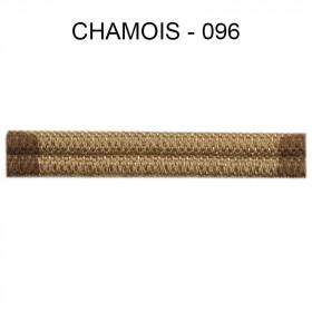 Double passepoil étroit 8 mm 43 IDF - Chamois 096 - Passementerie