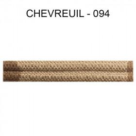 Double passepoil étroit 8 mm 43 IDF - Chevreuil 094 - Passementerie