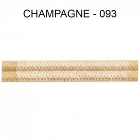 Double passepoil étroit 8 mm 43 IDF - Champagne 093 - Passementerie