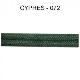 Double passepoil étroit 8 mm 43 IDF - Cyprès 072 - Passementerie
