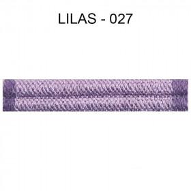 Double passepoil étroit 8 mm 43 IDF - lilas 027 - Passementerie