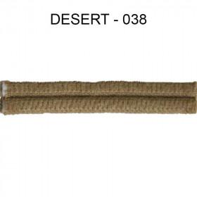 Double passepoil étroit 8 mm 43 IDF - desert 038 - Passementerie