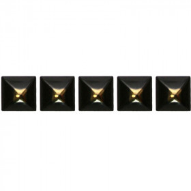 100 Clous tapissiers Cloustyl Bronze Renaissance 13 mm - Forme pyramide - Clous tapissier