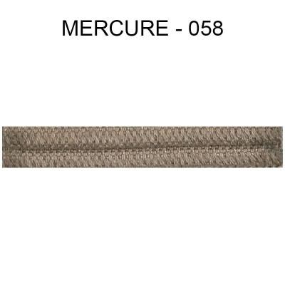 Double passepoil étroit 8 mm 43 IDF - Mercure 058