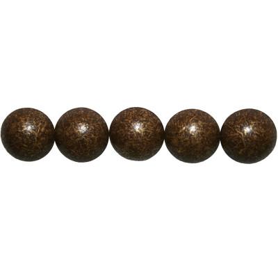 1000 Clous tapissier Vieilli Bronze Moyen Perle Fer 14 mm