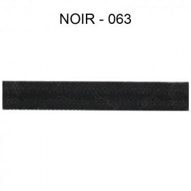 Double passepoil étroit 8 mm 43 IDF - Noir 063 - Passementerie