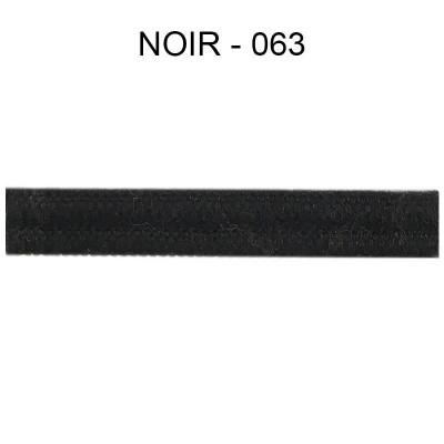 Double passepoil étroit 8 mm 43 IDF - Noir 063