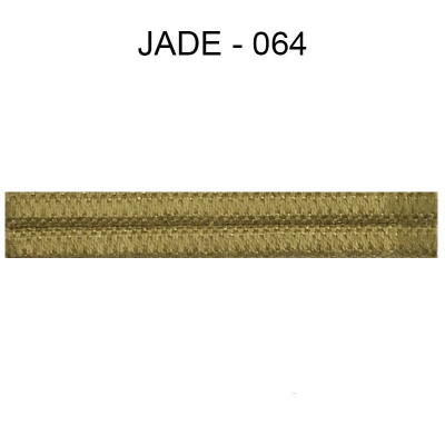 Double passepoil étroit 8 mm 43 IDF - Jade 064