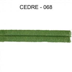Double passepoil étroit 8 mm 43 IDF - Cèdre 068 - Passementerie