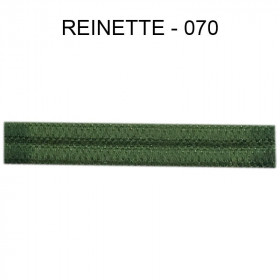 Double passepoil étroit 8 mm 43 IDF - Reinette 070 - Passementerie