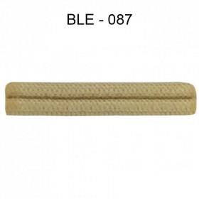 Double passepoil étroit 8 mm 43 IDF - Blé 087 - Passementerie