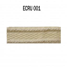 Galon chaînette 15 mm 001 Ecru - Passementerie