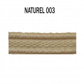 Galon chaînette 15 mm 003 Naturel - Passementerie