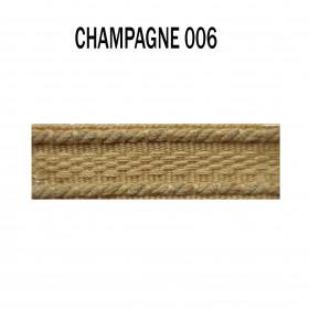 Galon chaînette 15 mm 006 Champagne - Passementerie