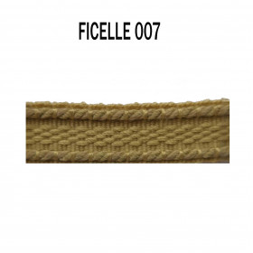Galon chaînette 15 mm 007 Ficelle - Passementerie