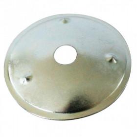 10 Rondelles de renfort Ø28mm ASTOR, acier, finition nickelé - Mercerie