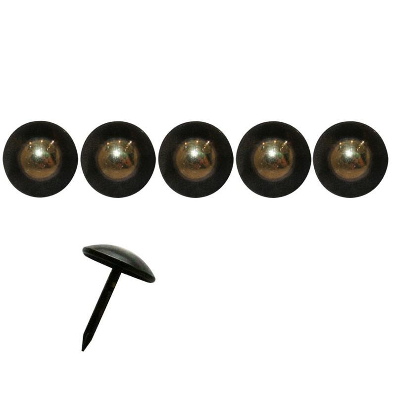1000 Clous tapissiers Bronze Renaissance 14 mm - Clous tapissier