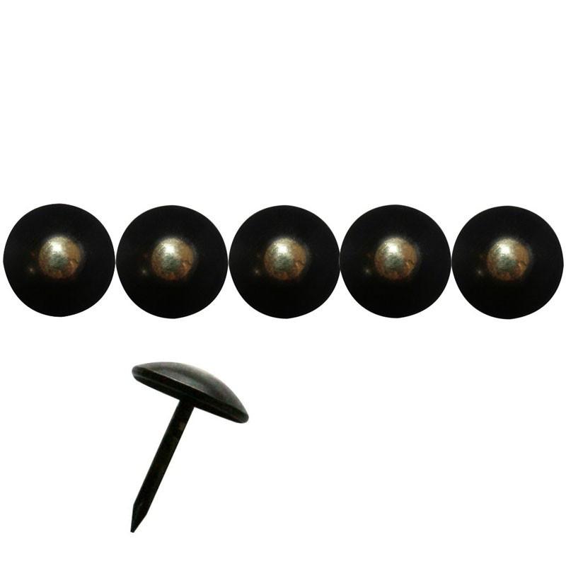 """100 Clous tapissiers \\""""Ivry\\"""" Bronze Renaissance 14 mm - Clous tapissier"""