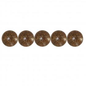 500 Clous tapissier FAM Bronze doré 18mm - Clous tapissier