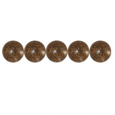 500 Clous tapissier FAM Bronze Doré Perle Fer 18mm