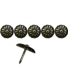 500 Clous tapissier Bronze Renaissance 19 mm - Clous tapissier
