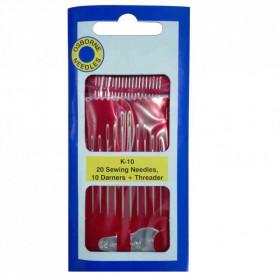 Assortiment d'aiguilles pour cuir Osborne K10 - Mercerie