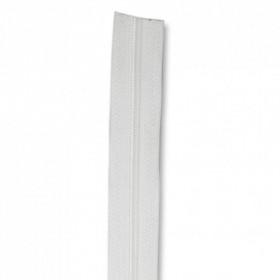 Fermeture à glissière blanc 5 mm, le mètre - Mercerie