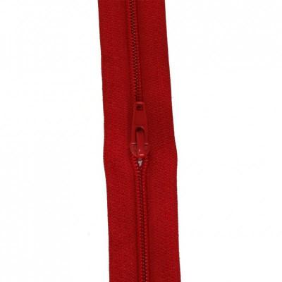 Fermeture à glissière rouge vif 5 mm, le mètre