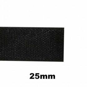 Bande auto-agrippante à coudre partie crochet 25mm - 1m - Mercerie