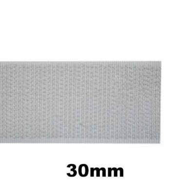Bande auto-agrippante à coudre partie crochet 30mm - 1m