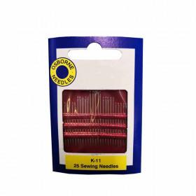Assortiment d'aiguilles pour cuir Osborne K11 - Outils cuir