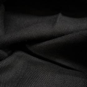 Toile de jute Noir le mètre - Fournitures tapissier