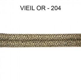 Double passepoil étroit 8 mm 43 IDF - Vieil Or 204 à 5,88 €