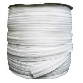 Rouleau Fermeture à glissière 4mm, 200 mètres - Coloris Blanc - Mercerie