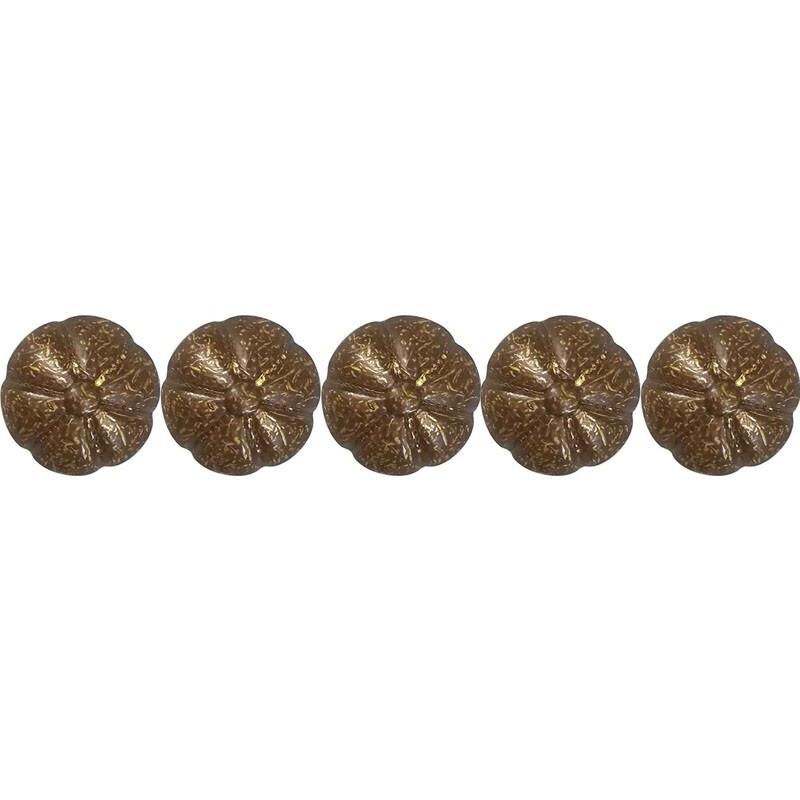 100 Clous tapissiers Louis XVI Vieilli Bronze 16 mm - Clous tapissier