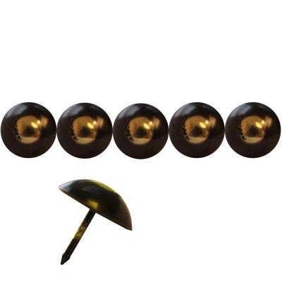 125 Clous tapissiers FAM Bronze Renaissance 25 mm - Clous tapissier