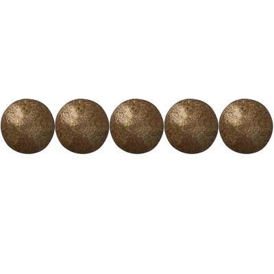 100 Clous tapissier Vieilli Bronze Perle Fer 26 mm