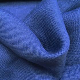 Toile de jute Bleu le mètre - Fournitures tapissier