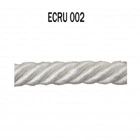 Câblé 8 mm - 002 Ecru - Passementerie