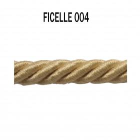 Câblé 8 mm - 004 Ficelle - Passementerie