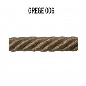 Câblé 8 mm - 006 Grège - Passementerie