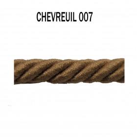 Câblé 8 mm - 007 Chevreuil - Passementerie