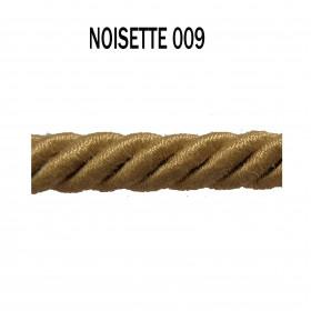 Câblé 8 mm - 009 Noisette - Passementerie