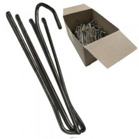 Agrafe flamande 75mm 4 branches - Tête de 0mm - boîte de 100 - Fournitures tapissier