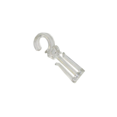 Crochet double ø 10 mm pour anneau Cristal - Par 100 - Habillage de la fenêtre