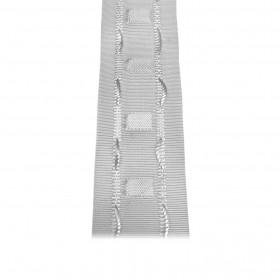 Fronceur plis fix 40 mm blanc, le mètre - Fournitures tapissier